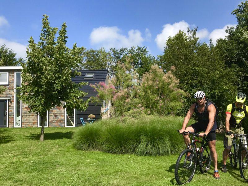 Port voorzijde daan en arjan fiets